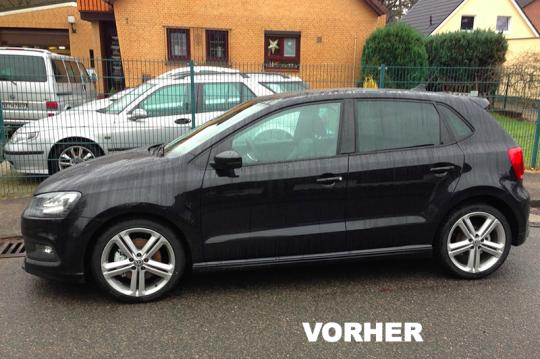 VW Polo 3 vorher